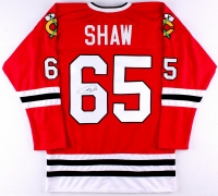Andrew Shaw Signed Blackhawks Jersey (JSA COA) at PristineAuction.com