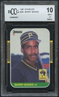 Barry Bonds 1987 Donruss #361 RC (BCCG 10) at PristineAuction.com