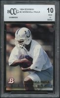 Marshall Faulk 1994 Bowman #2 RC (BCCG 10) at PristineAuction.com