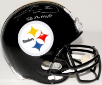 "Hines Ward Signed Steelers Full-Size Helmet Inscribed ""SB XL MVP"" (JSA COA & TSE COA) at PristineAuction.com"