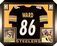 Hines Ward Signed Steelers 35x43 Custom Framed Jersey (JSA COA) at PristineAuction.com