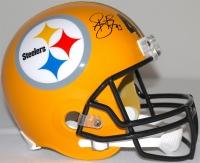 Troy Polamalu Signed Steelers Full-Size Helmet (TSE COA) at PristineAuction.com
