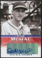 Stan Musial 2015 Leaf Heroes of Baseball Musial Autographs #MASM1 at PristineAuction.com