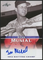 Stan Musial 2015 Leaf Heroes of Baseball Musial Autographs #MASM2 at PristineAuction.com