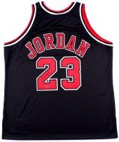 Michael Jordan Signed Mitchell & Ness Authentic Bulls Jersey (UDA COA)