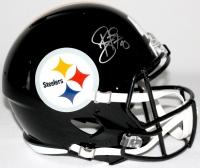 Troy Polamalu Signed Steelers Full-Size Speed Helmet (JSA COA & TSE Hologram)