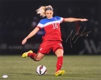 Julie Johnston Signed Team USA 16x20 Photo (JSA COA)