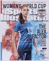 "Alex Morgan Signed LE Team USA 16x20 Photo Inscribed ""Team USA"" & ""15 WC Champs"" (Steiner COA)"