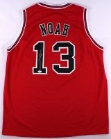 Joakim Noah Signed Bulls Jersey (JSA COA)