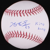 "Jung Ho Kang Signed OML Baseball Inscribed ""King Kong"" (JSA COA)"