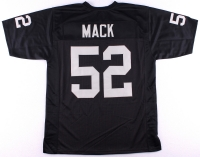 Khalil Mack Raiders On-Field Style Custom Stitched Jersey (Size XL)