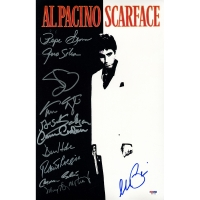 """Scarface"" 11x14 Poster Signed by Full-Cast including Al Pacino & (10) Others (PSA LOA)"