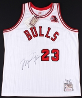 Michael Jordan Signed 1984-85 Bulls Authentic On-Court Jersey with Rookie of the Year Patch Limited Edition #123/123 (UDA COA)
