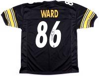 Hines Ward Signed Steelers Jersey (TSE)