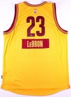 "LeBron James Signed LE Cavaliers Adidas ""2014 Christmas Day"" Jersey #2/23 (UDA COA)"