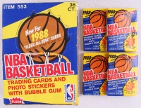1988 Fleer NBA Basketball Card Box of (36) Packs