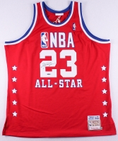 Michael Jordan Signed Bulls Authentic On-Court 1989 NBA All-Star Jersey (UDA COA)