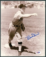 Bobby Doerr Signed Red Sox 8x10 Photo (PSA COA)