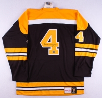 Bobby Orr Signed Authentic Mitchell & Ness Throwback Bruins Game Jersey (Orr COA)