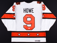 "Gordie Howe Signed Vintage NHL Hockey Jersey Inscribed ""Mr. Hockey"" (JSA COA)"