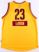 """LeBron James Signed Cavaliers Adidas """"2014 Christmas Day"""" Jersey Limited Edition #23/23 (UDA COA)"""