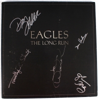 "The Eagles Band Signed ""The Long Run"" Record Album with (5) Signatures Including Glenn Frey, Joe Walsh, Timothy Schmitt, Don Henley & Don Felder (JSA LOA & Roger Epperson LOA)"