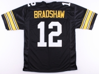 Terry Bradshaw Steelers On-Field Style Custom Stitched Jersey (Size XL)