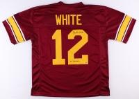 "Charles White Signed USC Jersey Inscribed ""79 Heisman"" (Schwartz COA)"