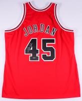"Michael Jordan Signed 1994-95 ""#45"" Mitchell & Ness Authentic Bulls Jersey (UDA COA)"
