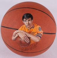 "Pete ""Pistol Pete"" Maravich Signed Custom Hand-Painted Basketball Limited Edition #1/1 (JSA LOA)"