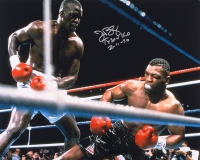 "James ""Buster"" Douglas Signed 16x20 Photo Inscribed ""Tyson KO 2-11-90"" (JSA COA)"