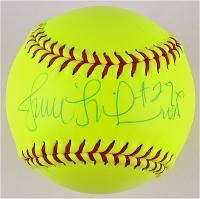 "Jennie Finch Signed Mizuno Softball Inscribed ""USA"" (PA COA)"