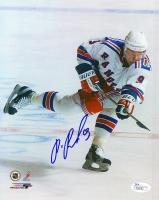 Pavel Bure Signed Rangers 8x10 Photo (JSA COA)