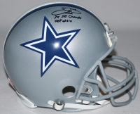 """Emmitt Smith Signed LE Cowboys Full-Size Authentic Pro-Line Helmet Inscribed """"3x SB Champs"""" & """"HOF 2010"""" (Steiner COA)"""