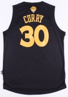 Stephen Curry Signed Warriors Jersey with Finals Patch (JSA ALOA)