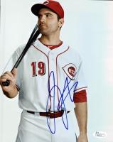 Joey Votto Signed Reds 8x10 Photo (JSA COA)
