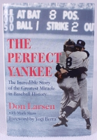 "Don Larsen Signed ""The Perfect Yankee"" Hardback Book  (Stacks of Plaques COA)"