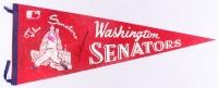 "Ted Williams Signed Vintage 1969 Washington Senators 29"" Full-Size Pennant (JSA ALOA)"