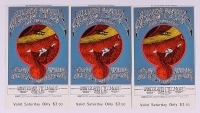 Lot of (3) Grateful Dead & Jefferson Airplane Unused Tickets Dated May 1 - 4, 1968