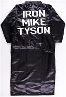 Mike Tyson Signed Custom Fight Model Full Size Boxing Robe (JSA COA)