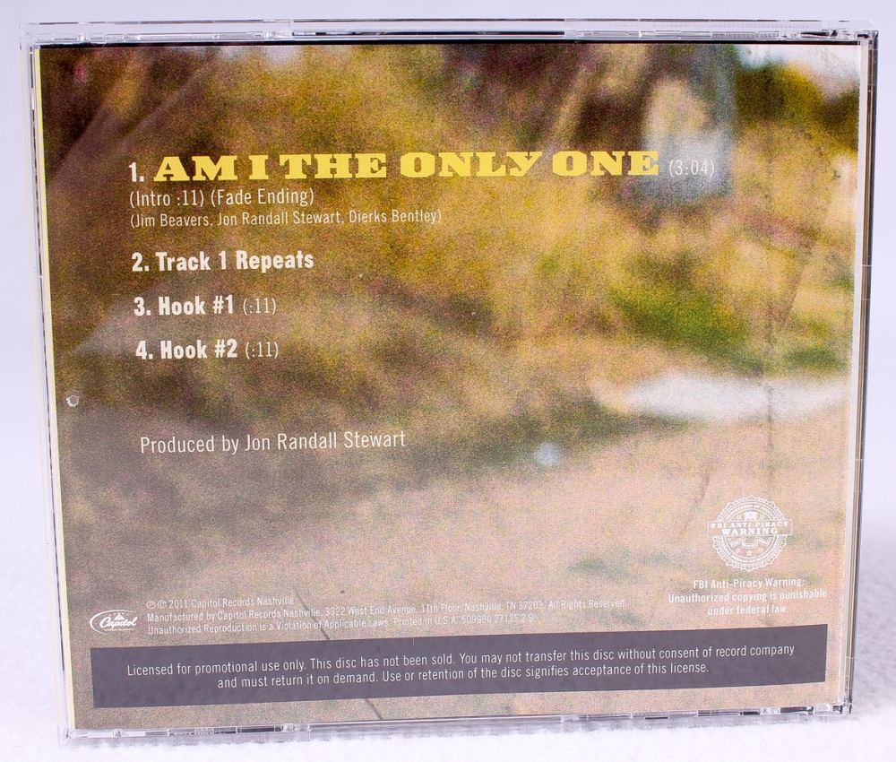 dierks bentley cd am i the only one hand signed in black felt t. Cars Review. Best American Auto & Cars Review