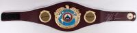 Mike Tyson Signed World Boxing Organization High Quality Replica Full-Size Belt (JSA COA)