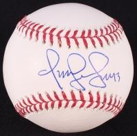 Omar Vizquel Signed OML Baseball (JSA COA)