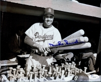 Duke Snider Signed Dodgers 8x10 Photo (JSA COA