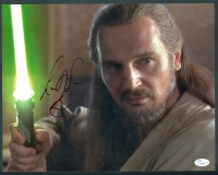 "Liam Neeson Signed ""Star Wars"" 11x14 Photo (JSA COA)"
