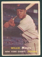 Willie Mays 1957 Topps #10