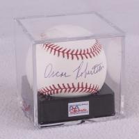 Oscar Robertson Signed OML Baseball - PSA Graded 9 (PSA LOA)