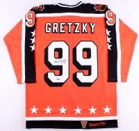 Wayne Gretzky Signed 1984-85 All-Star Game Mitchell & Ness Authentic On-Ice Hockey Captain Jersey (UDA COA)
