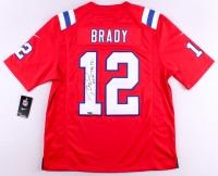 "Tom Brady Signed Patriots Nike Authentic On-Field Jersey Inscribed ""AKA TB 12"" (Tristar Hologram)"