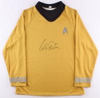 "William Shatner Signed Star Trek ""Captain James T. Kirk"" Prop Replica Uniform Shirt (JSA COA)"